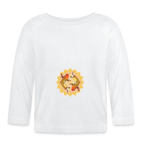 Asian Pond Carp - Koi Fish Mandala 2 - Baby Langarmshirt