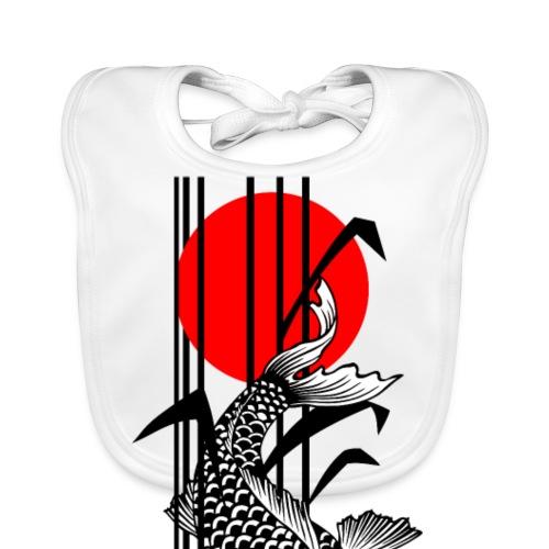 Bamboo Design - Nishikigoi - Koi Fish 1 - Baby Bio-Lätzchen