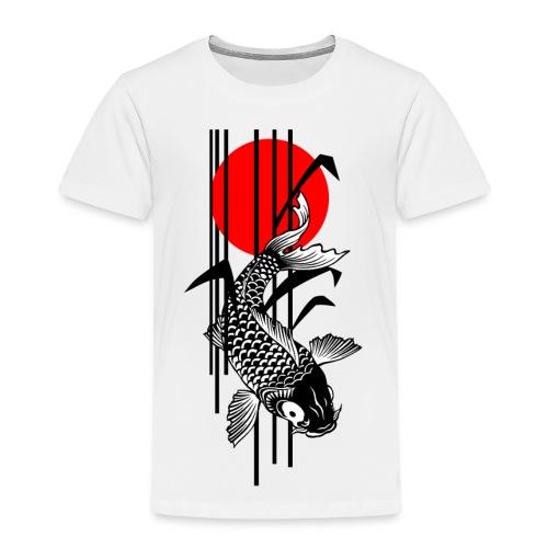 Bamboo Design - Nishikigoi - Koi Fish 1 - Kinder Premium T-Shirt