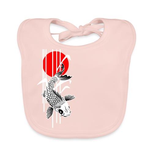 Bamboo Design - Nishikigoi - Koi Fish 2 - Baby Bio-Lätzchen