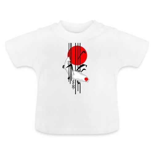 Bamboo Design - Nishikigoi - Koi Fish 5 - Baby T-Shirt