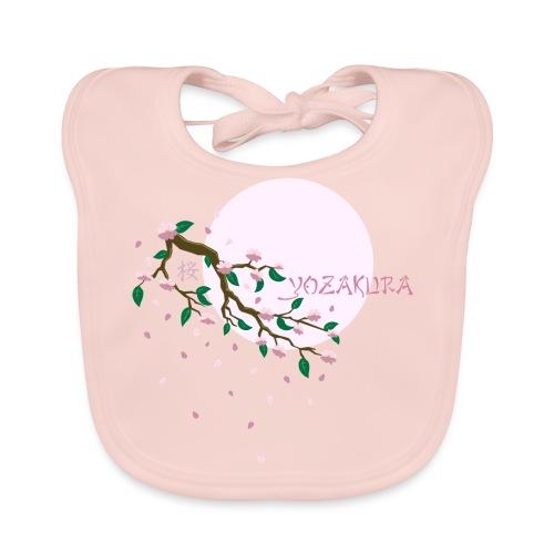 Cherry Blossom Festval Full Moon 1 - Baby Bio-Lätzchen