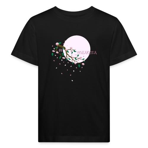 Cherry Blossom Festval Full Moon 1 - Kinder Bio-T-Shirt