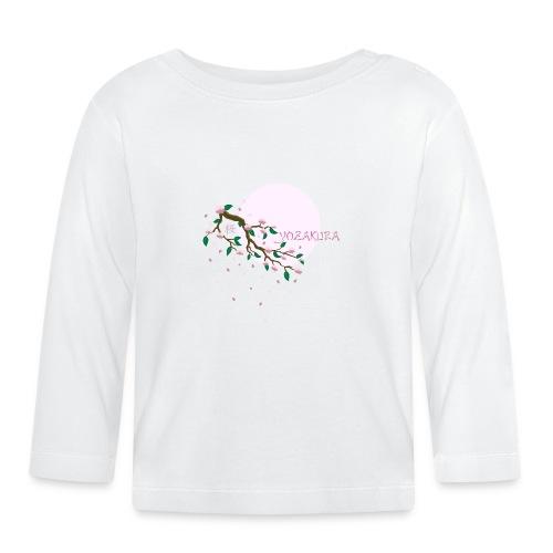 Cherry Blossom Festval Full Moon 1 - Baby Langarmshirt