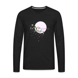 Cherry Blossom Festval Full Moon 1 - Männer Premium Langarmshirt