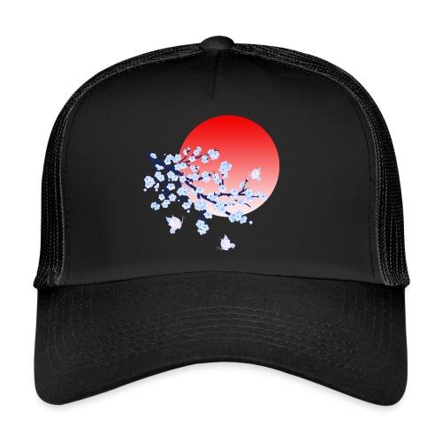 Cherry Blossom Festval Full Moon 4 - Trucker Cap
