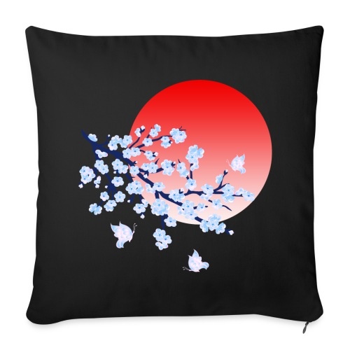 Cherry Blossom Festval Full Moon 4 - Sofakissenbezug 44 x 44 cm