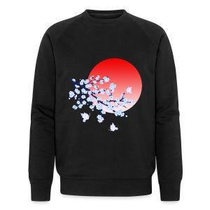 Cherry Blossom Festval Full Moon 4 - Männer Bio-Sweatshirt von Stanley & Stella
