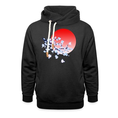 Cherry Blossom Festval Full Moon 4 - Schalkragen Hoodie