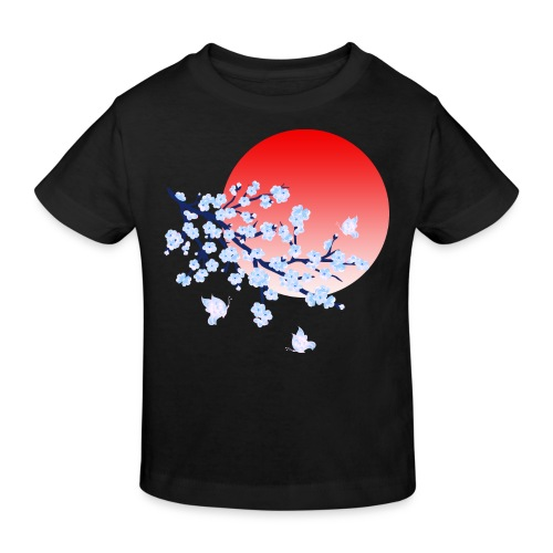 Cherry Blossom Festval Full Moon 4 - Kinder Bio-T-Shirt