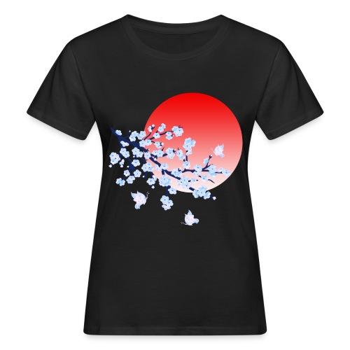 Cherry Blossom Festval Full Moon 4 - Frauen Bio-T-Shirt