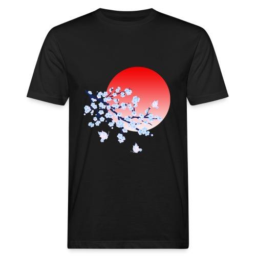 Cherry Blossom Festval Full Moon 4 - Männer Bio-T-Shirt