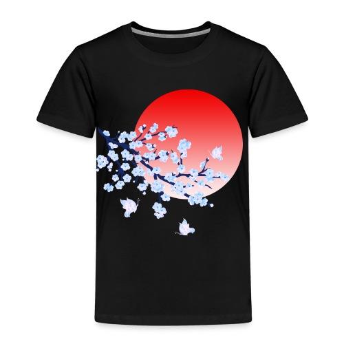 Cherry Blossom Festval Full Moon 4 - Kinder Premium T-Shirt