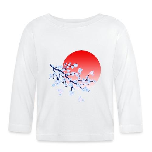 Cherry Blossom Festval Full Moon 4 - Baby Langarmshirt