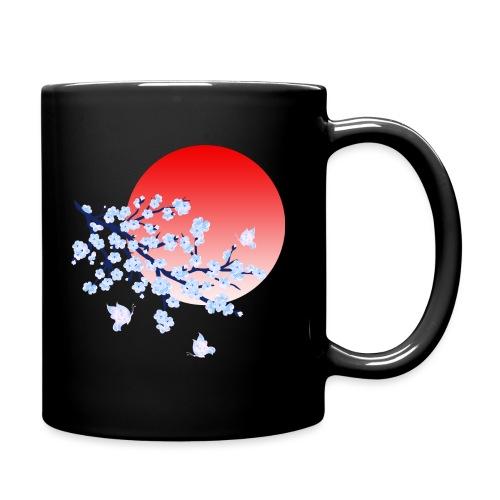 Cherry Blossom Festval Full Moon 4 - Tasse einfarbig
