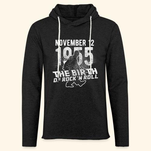 Birth of Rock'n Roll - Leichtes Kapuzensweatshirt Unisex