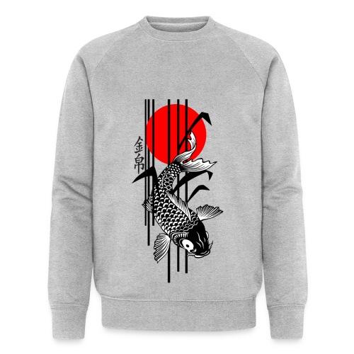 Bamboo Design - Nishikigoi - Koi Fish 3 - Männer Bio-Sweatshirt von Stanley & Stella