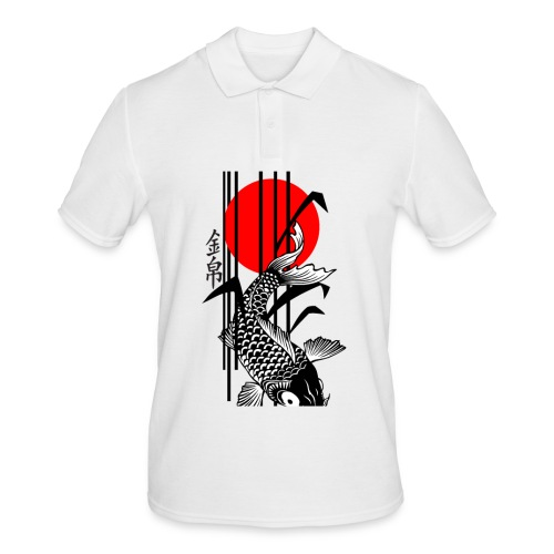 Bamboo Design - Nishikigoi - Koi Fish 3 - Männer Poloshirt