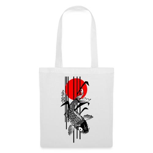 Bamboo Design - Nishikigoi - Koi Fish 3 - Stoffbeutel