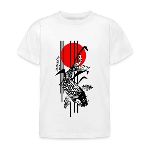 Bamboo Design - Nishikigoi - Koi Fish 3 - Kinder T-Shirt