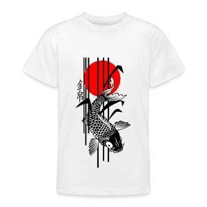 Bamboo Design - Nishikigoi - Koi Fish 3 - Teenager T-Shirt