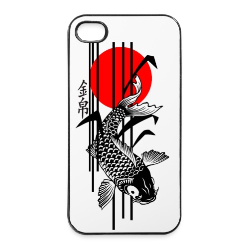 Bamboo Design - Nishikigoi - Koi Fish 3 - iPhone 4/4s Hard Case