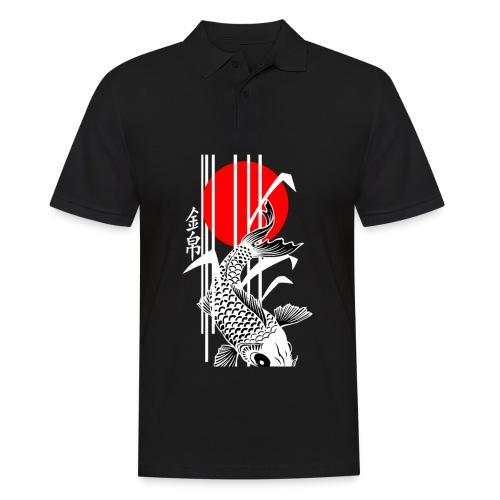 Bamboo Design - Nishikigoi - Koi Fish 4 - Männer Poloshirt
