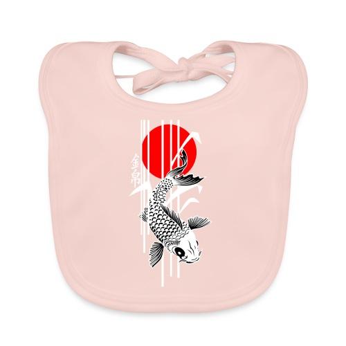Bamboo Design - Nishikigoi - Koi Fish 4 - Baby Bio-Lätzchen