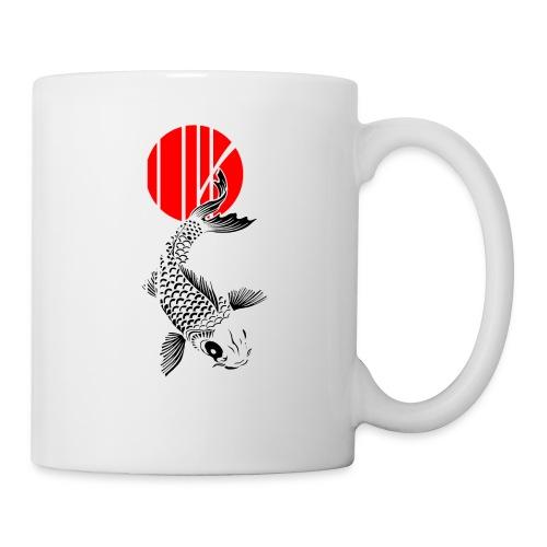 Bamboo Design - Nishikigoi - Koi Fish 4 - Tasse