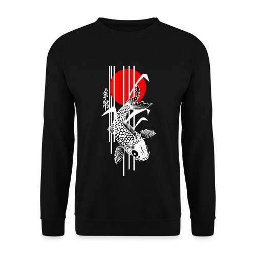 Bamboo Design - Nishikigoi - Koi Fish 4 - Männer Pullover