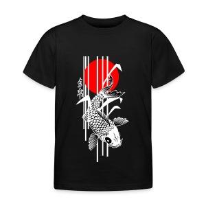 Bamboo Design - Nishikigoi - Koi Fish 4 - Kinder T-Shirt