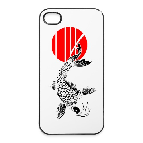 Bamboo Design - Nishikigoi - Koi Fish 4 - iPhone 4/4s Hard Case