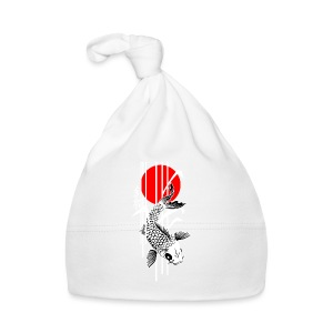 Bamboo Design - Nishikigoi - Koi Fish 4 - Baby Mütze