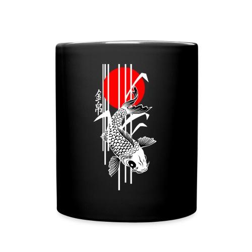 Bamboo Design - Nishikigoi - Koi Fish 4 - Tasse einfarbig