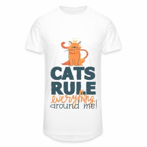 Cats Rule - Männer Urban Longshirt