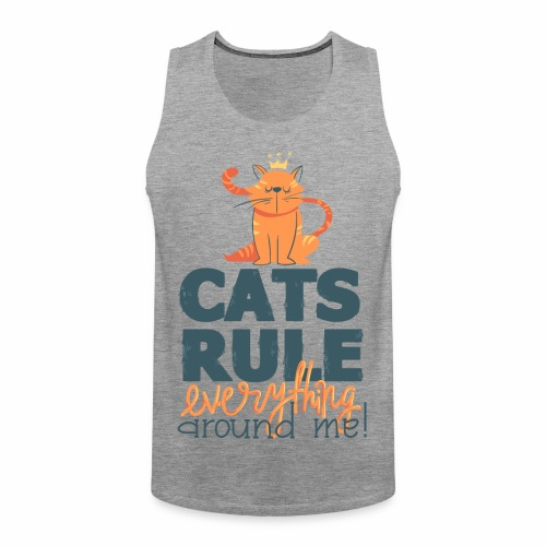 Cats Rule - Männer Premium Tank Top
