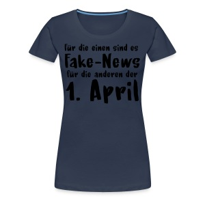 Fake News = 1. April