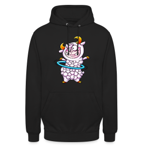 cloth bag hula hoop sheep - Unisex Hoodie