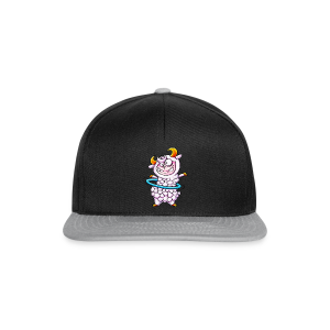 cloth bag hula hoop sheep - Snapback Cap