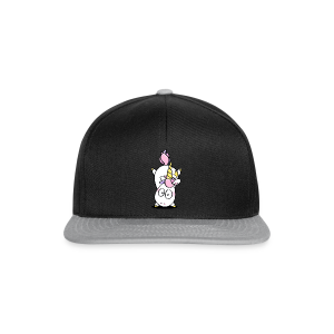 cloth bag handstand unicorn - Snapback Cap