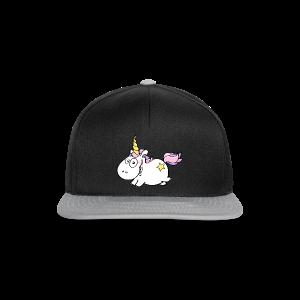 cloth bag flying unicorn - Snapback Cap