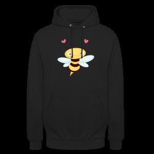 cloth bag bee - Unisex Hoodie