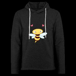 cloth bag bee - Leichtes Kapuzensweatshirt Unisex