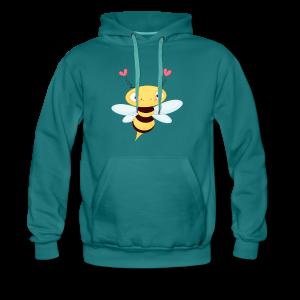 cloth bag bee - Männer Premium Hoodie