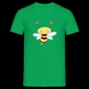 cloth bag bee - Männer T-Shirt