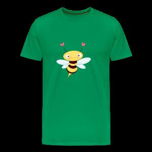 cloth bag bee - Männer Premium T-Shirt