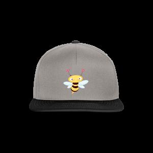 cloth bag bee - Snapback Cap