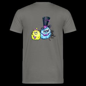 cloth bag spider monster - Männer T-Shirt