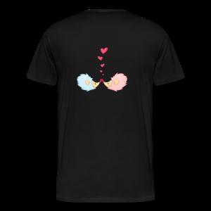 cloth bag hedgehogs in love - Männer Premium T-Shirt