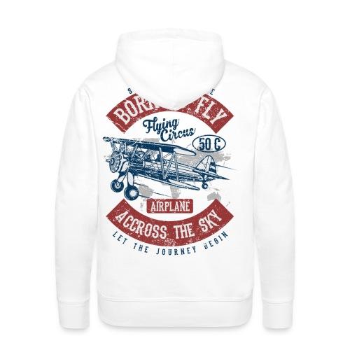 Born to Fly - Männer Premium Hoodie